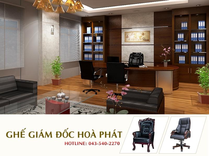 Ghế giám đốc Hòa Phát - Sản phẩm nội thất văn phòng cao cấp