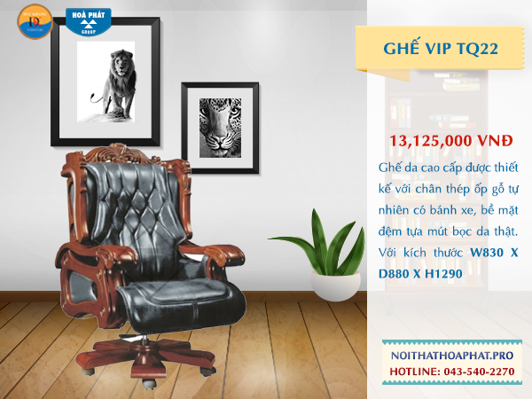 Ghế VIP Hòa Phát TQ 22