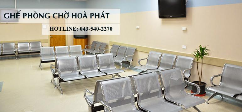 Những mẫu ghế phòng chờ của nội thất Hòa Phát