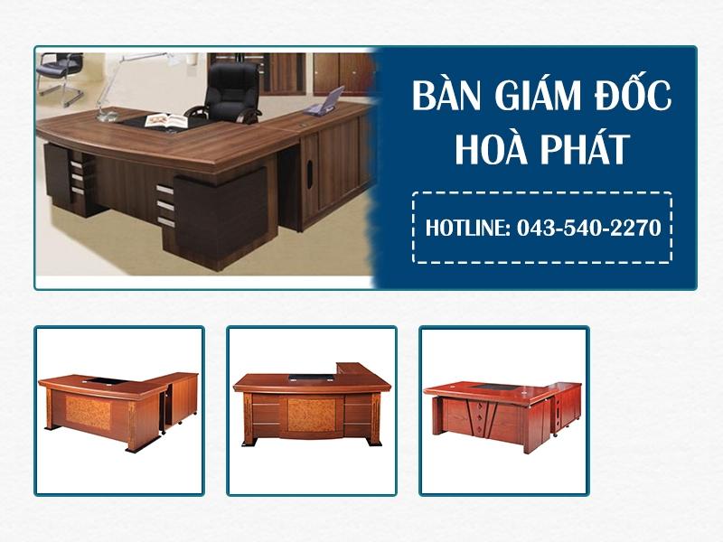 Đặc điểm chung của bàn giám đốc Hòa Phát