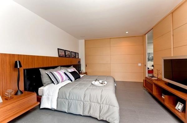 Vách ngăn trượt thông minh cho căn hộ chung cư 83m2
