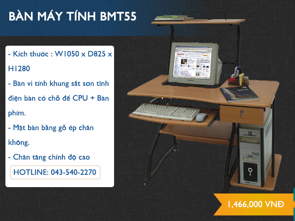 Bàn máy tính BMT55