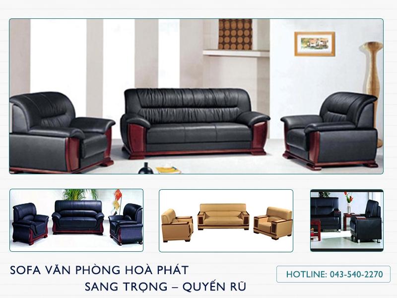 Sofa văn phòng Hòa Phát đem đến cảm nhận khác biệt