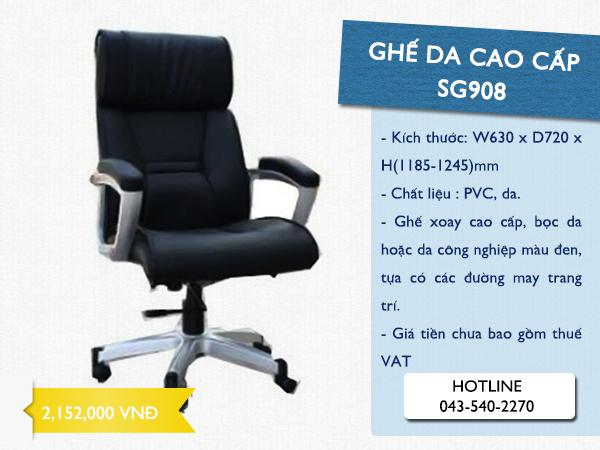 ghế xoay da SG908