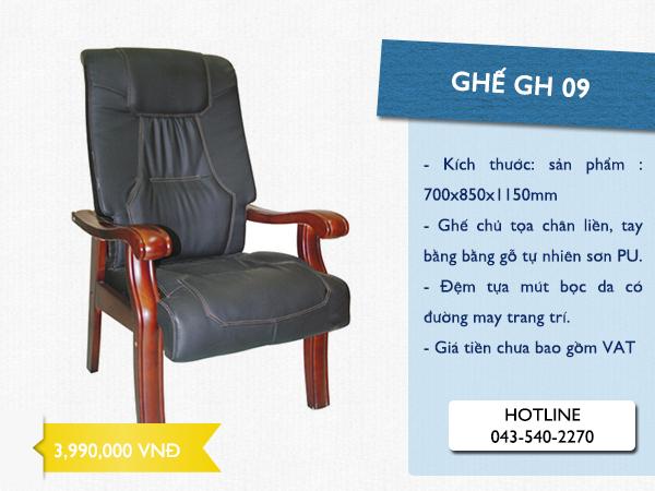 ghế chân liền GH 09