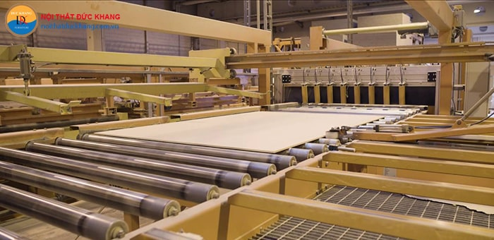 Quy trình sản xuất gỗ MFC