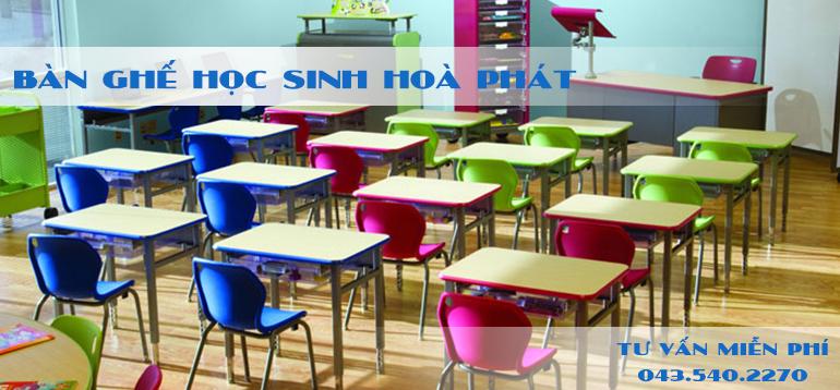 Bàn ghế học sinh Hòa Phát