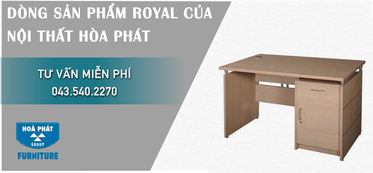 Những mẫu bàn làm việc Royal của nội thất Hòa Phát