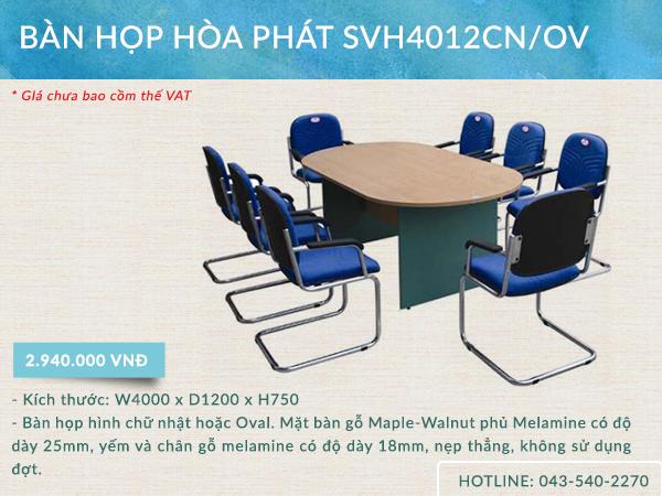 Mẫu bàn SVH4012CN/OV