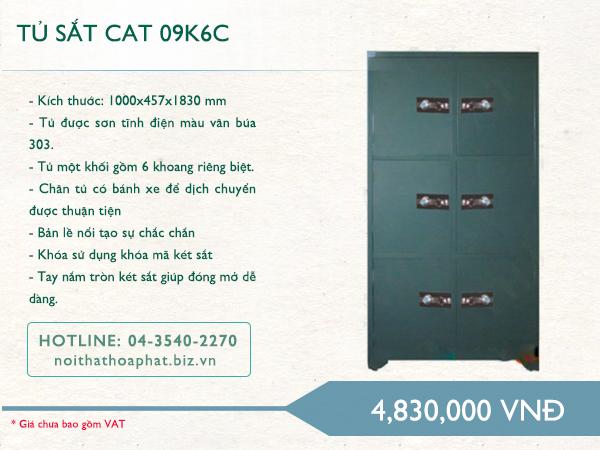 Tủ sắt Hòa Phát 09K6C