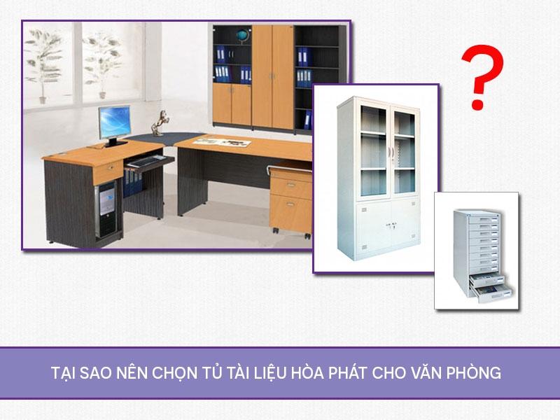 Tại sao nên chọn tủ tài liệu Hòa Phát cho văn phòng