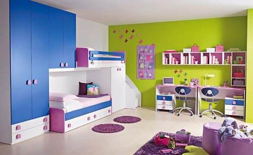 Chọn màu sắc phù hợp cho căn phòng