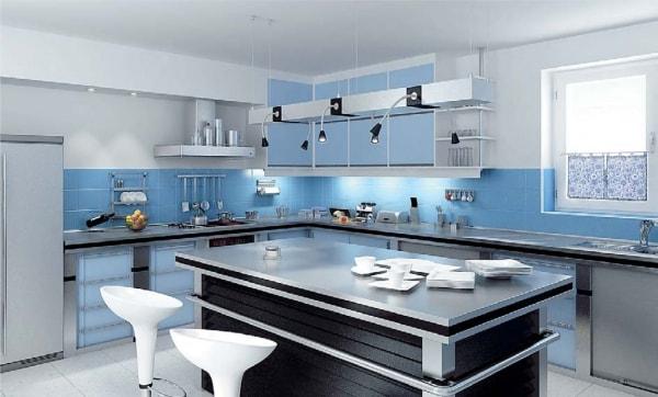 Vì sao bạn nên dùng tủ bếp kim loại?