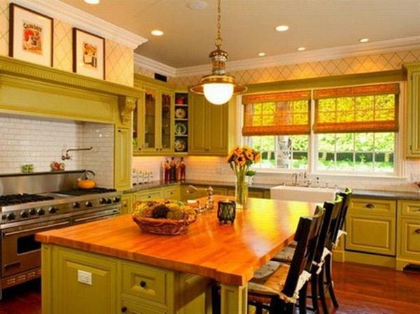 Chú ý tới khoảng cách giữa bồn rửa và bếp