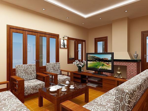 Nội thất gỗ cho không gian sống ấm áp 3