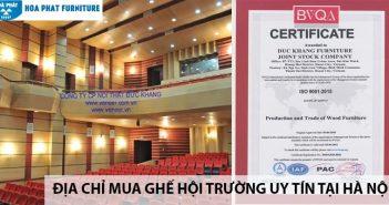 Địa chỉ mua ghế hội trường uy tín tại Hà Nội 1
