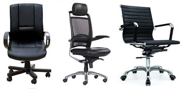 Nên chọn ghế xoay văn phòng chất liệu gì?