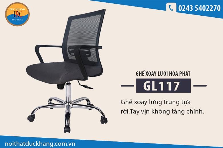 Ghế xoay lưới GL117
