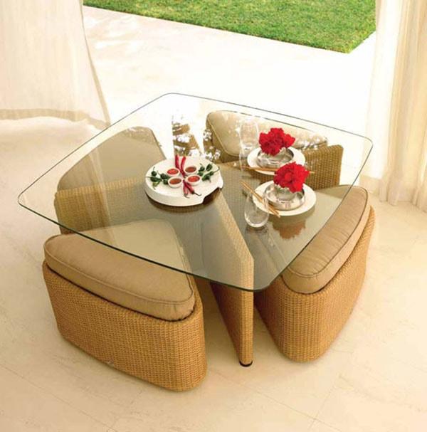 cách chọn bàn ghế cho nhà nhỏ