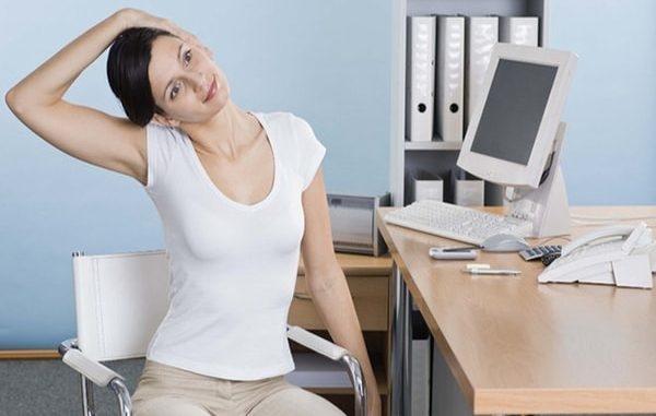 Những bài tập giúp ngồi ghế văn phòng lâu mà không mỏi