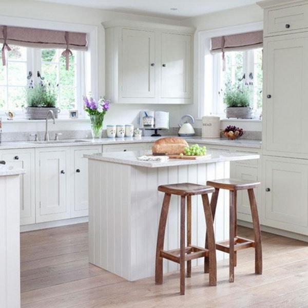 Thiết kế đảm bảo đủ ánh sáng trong bếp
