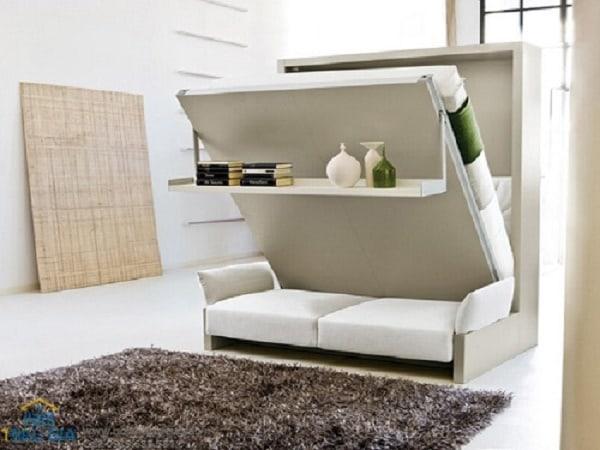 Đồ vật có thể làm giường, làm ghế sofa và kệ để đồ