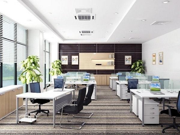 Cách bố trí văn phòng làm việc hiện đại nhờ sắp xếp nội thất khoa học