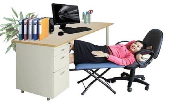 Dân văn phòng sẽ có thời gian nghỉ ngơi thoải mái để sẵn sàng cho giờ làm việc buổi chiều