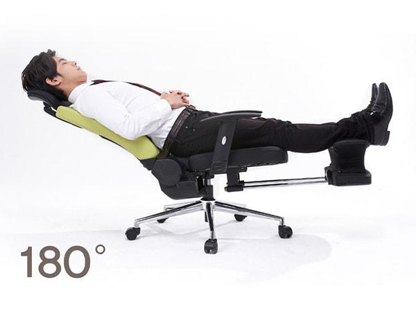 Ghế ngủ cho dân văn phòng được làm từ khung inox cao cấp