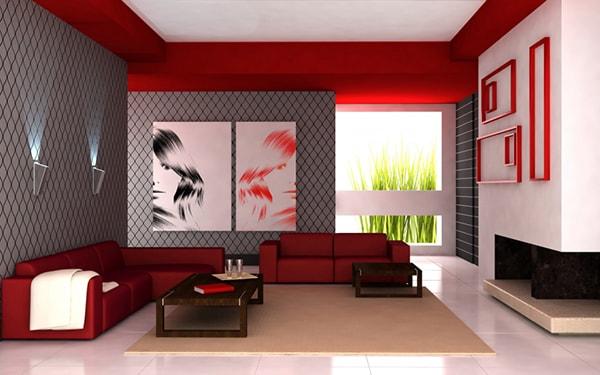 Sàn phòng khách cần đảm bảo thiết kế phẳng