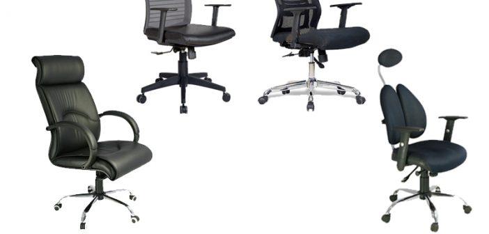 4 mẫu ghế xoay văn phòng có tựa đầu giá chỉ từ 1,5 triệu đồng