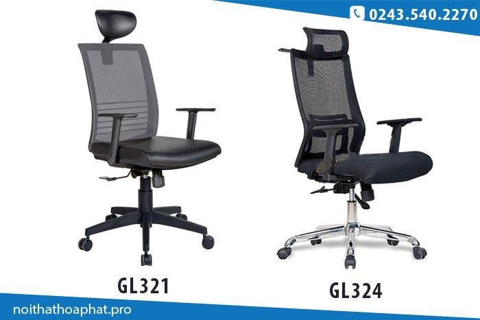 Những mẫu ghế văn phòng có tựa đầu của Hòa Phát