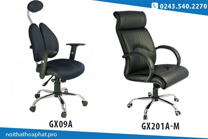 Những mẫu ghế văn phòng có tựa đầu của 190
