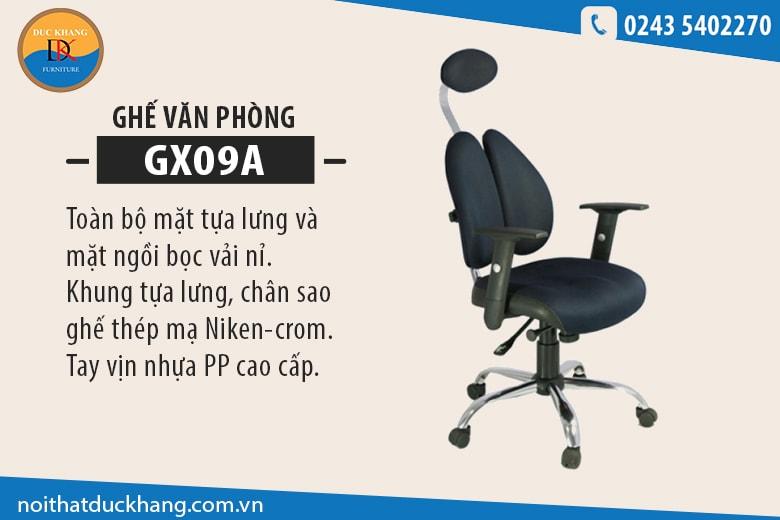 Ghế xoay văn phòng 190 GX09A