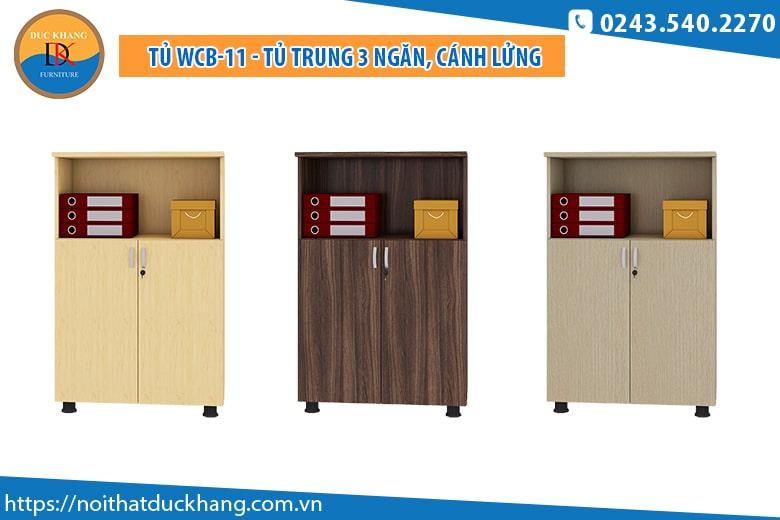 Tủ WCB-11 - Tủ trung 3 ngăn, cánh lửng: Giá 1.147.000 đồng