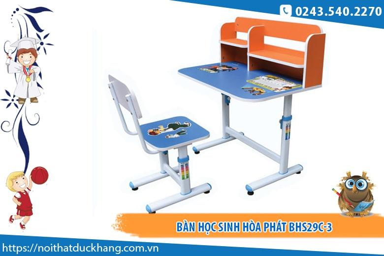 Bộ bàn học sinh Hòa Phát BHS29C-3