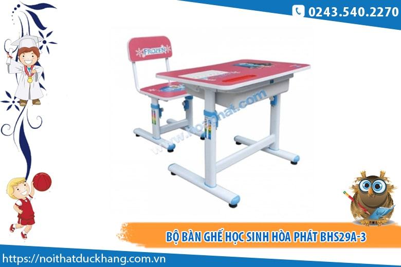 Bộ bàn ghế học sinh Hòa Phát BHS29A-3