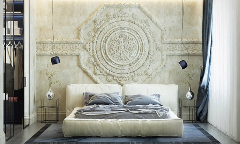 Trang trí phòng ngủ nhỏ không cần đệm đậm nét quý tộc